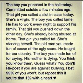 The Tragic But True Impact of Bullying