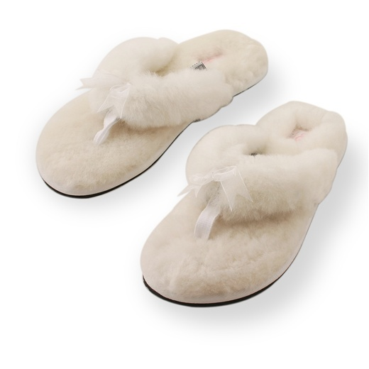 UGG Fluff Slipper White